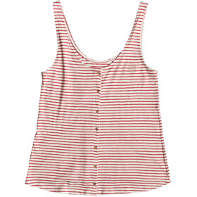 Roxy For You My Love - Haut sans manches Femme - rouge/blanc